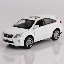 LEXUS RX450 SUV Model Cars 1:32 Toys Sound&Light Collection White Alloy Diecast
