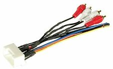 Wire Harness for Toyota aftermarket stereo install factory amp amplifier RCA