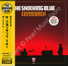 SHOCKING BLUE COMEBACK CD MINI LP OBI Mariska Veres poster album rock new
