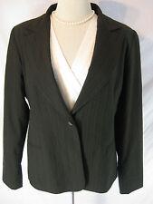 Classic Sz 16 Portmans Designer Corporate Pin Stripe Jacket