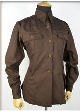 "US Army Women ""Chocolate"" Shirt Air Corps WW2 Gr L Fieldshirt WAC WASP"