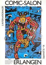 offizielles Plakat, Comic Salon Erlangen 1992, Variante 1
