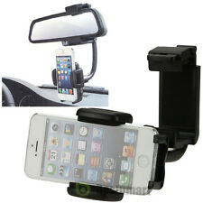Car Rearview Mirror Mount Holder For Cell Phone iPhone 6S 6 Plus GPS Universal