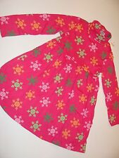 Gymboree Cheery All The Way Girl Girls Size 6 Pink Snowflake Dress NWT NEW