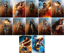 12pc Wonder Woman Movie 2017 Mirror Surface Postcard Promo Card Poster Card Z865