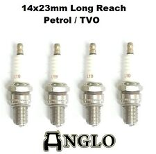 "Ferguson T20 TEA TED T20 ""TVO"" Tractor Spark Plug Set of 4  Long Reach A67688"