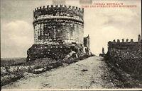~1910 Roma Rom Italien Cartolina Italiana Monumenti Tomb Grabmal mit Turm Italy