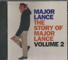MAJOR LANCE - The Story Of Major Lance Volume 2  - CD - BRAND NEW