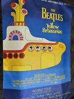 Beatles Yellow Submarine 2012 Japanese Movie Poster Misprint Very Rare