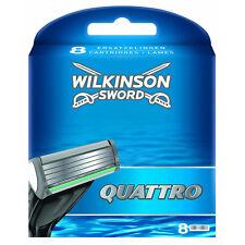 Wilkinson Sword Quattro Lames de Rasoir Pack de 8 (TOWIL149)