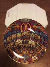 "The Franklin Mint Limited Edition McDonald's ""Golden Showcase� Collectible Plate"