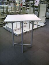 White Retail Cosmetic Clinique Folding High Table