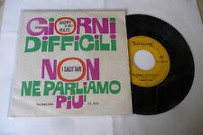 """I SAGITTARI"""" GIORNI DIFFICILI-DISCO 45 GIRI TELERECORD It 1967"""" BEAT-RARO"""