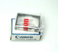 Canon F-1 Focusing Screen D