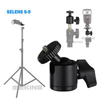 Selens Metal Mini Tripod Ballhead Ball Head S-09 For Camera Tripod Monopod Flash