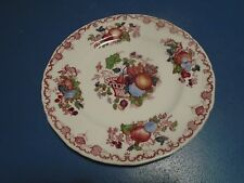 Mason's Fruit Basket Lunch Plates Made in England