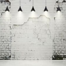 Shabby Gray Brick Wall Backdrop Stage Photography Props 10x10ft Vinyl Background