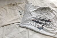 2 Vintage 50/50 Single Stitched 10 Reason For Going Postal Men's XL T-Shirts