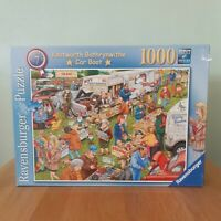Ravensburger 1000 Piece Jigsaw Puzzle Knotworth Bothrynwithe Boot Sale Unchecked