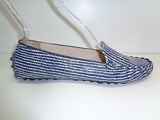 Cole Haan Size 8 M CARY VENETIAN Blue Leather Moccasins Loafers New Womens Shoes