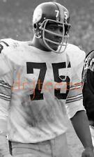 1969 Joe Greene PITTSBURGH STEELERS - 35mm Football Negative