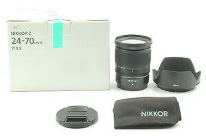 Fedex【 Unused ! !!】 Nikon Nikkor Z 24-70mm F/4 S Lens from Japan Mostly unused.