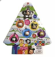 New Disney Tsum Tsum Exclusive Tree Holiday Gift Set 7 Pieces Tsparkle Mickey