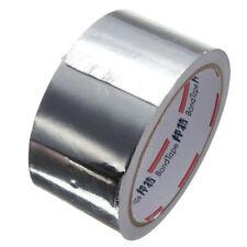 Roll Silver Aluminium Adhesive Foil Sealing Tape Heating Duct Repairs W 2in L8ft