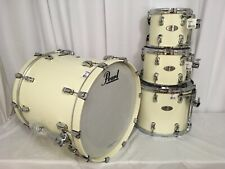 """Pearl Reference 4 Piece Drum Kit/Rare Configuration/Ivory/#330/ W-22"""" Bass Drum"""