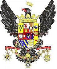 100x140 1816 BANDIERA FLAG REGNO SICILIA 2 SICILIE RISOLUZIONE TRINACRIA PALERMO