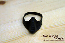 Custom 1/6 Scale Ninja Master Ducard Mask for Hot Toys head sculpt