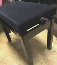 Piano Bench, adjustable, new, black - other colours available, made to order