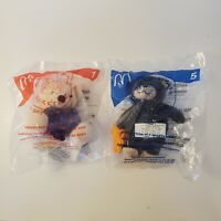 McDonald's Happy Meal Build-A-Bear Set of 2 - 2006 - New In Package
