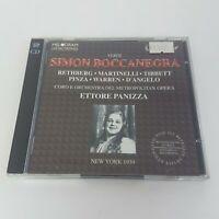 Verdi SIMON BOCCANEGRA 2 CD (1990) MELODRAM Live New York 1939 Rethberg