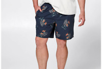 MENS  MR BIG  plus size 7XL  FESTIVAL  COTTON shorts Target elastic waist NEW