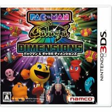 Used 3DS PACMAN & Galaga DIMENSIONS Import Japan