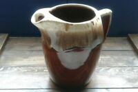Pitcher McCoy Kathy Kale Brown Drip Pitcher  vintage 8""