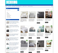 BEDDING WEBSITE WITH ONE YEARS HOSTING EASY HOME BUSINESS-NEW DOMAIN