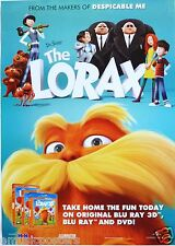 THE LORAX ASIAN MOVIE POSTER - 2012 Dr. Seuss Animated Film