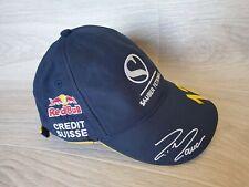 RARE Felipe Massa Hat Cap Red Bull Sauber F1 Team Malaysia 2004 Credit Suisse 12