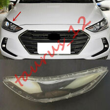 Replace Right Side Clear headlight cover PC+Glue For Hyundai Elantra 2017-2018