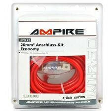Ampire epk20 power-kit 20mm ² (Economy) verstärker-anschlußkabel-set 20mm