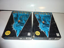 Noctropolis game pc cd-rom big box dos flashpoint english inc comic book