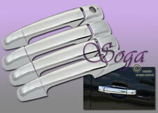 FOR GMC SIERRA YUKON XL CADILLAC ESCALADE 4DR CHROME DOOR HANDLE COVER COVERS US