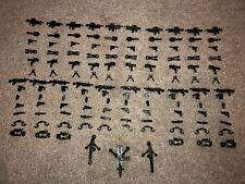 BrickArms Modern Combat Assault Minifigure 129x Weapons Pack for LEGO