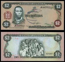 XM.107} JAMAICA 2 dollars ND UNC