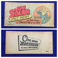 "1953 ""John Solar Space Sheriff Spacettes of the Sky"" Premium Comic book"