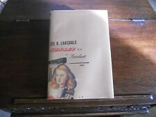 SUNSET & SAWDUST, Joe R. Lansdale, SIGNED 1st ed/1st print 2004 HCDJ