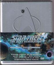 Star Trek Next Generation Season 4 Neu OVP Sealed Silberbox Deutsche Ausgabe