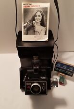 Vintage Polaroid Camera Square Shooter 4 With Flash Cubes